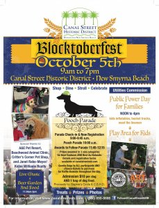 Blocktoberfest @ Canal Street | New Smyrna Beach | Florida | United States