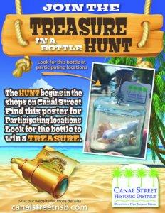 Treasure in a Bottle @ Canal Street