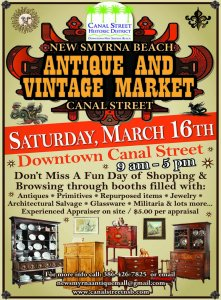 Antique and Vintage Market @ Canal Street Business