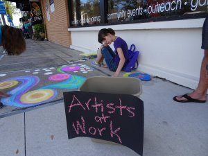 2nd Annual Chalk IT UP! @ the HUB on canal