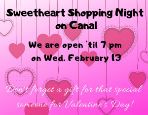 SWEETHEART SHOPPING ON CANAL @ Canal Street
