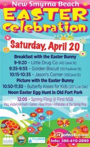 Easter Celebration City of NSB 2019 @ Noon Easter Egg Hunt