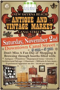 Antique and Vintage Market 2019 @ Canal Street Business