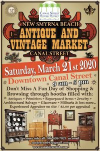 Antique and Vintage Market 2020 @ Canal Street Business