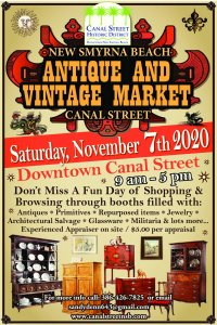 Fall Antique and Vintage Market @ New Smyrna Beach | Florida | United States