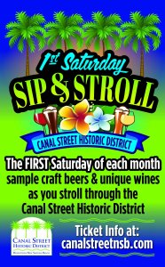 Sip & Stroll @ Canal Street Historic District