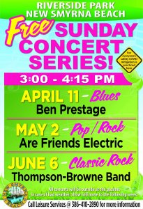 Sunday Concert Series @ Riverside Park