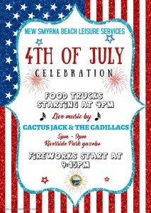 4th of July Celebration @ Riverside Park