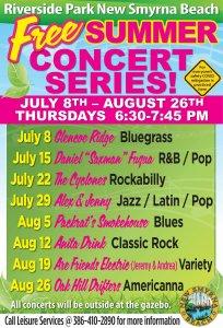 Summer Concert Series @ Riverside Park